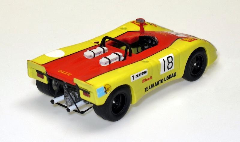 87022 2 Porsche 908 2  Flunder 200 Meilen Nürburgring 71