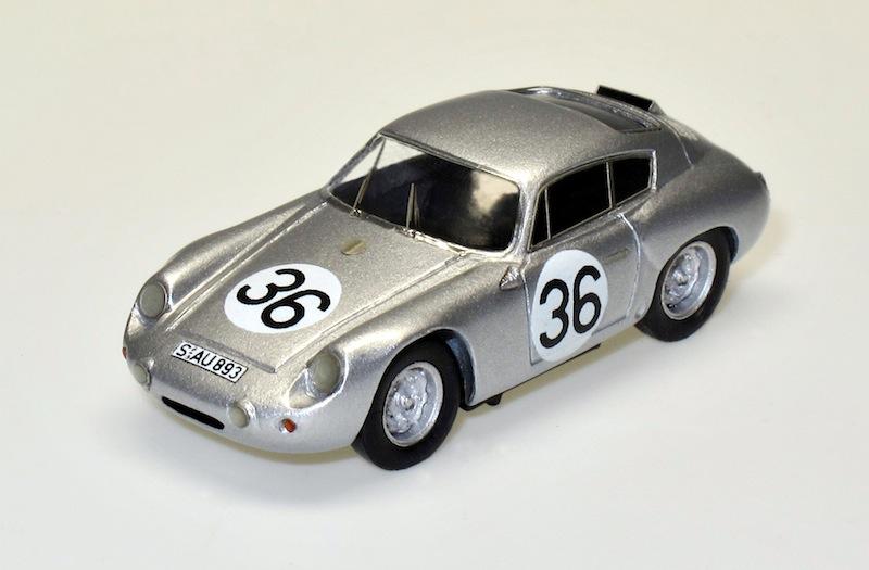 87043 1 Porsche 356B Carrera GTL Abarth Coupe Le Mans 1961