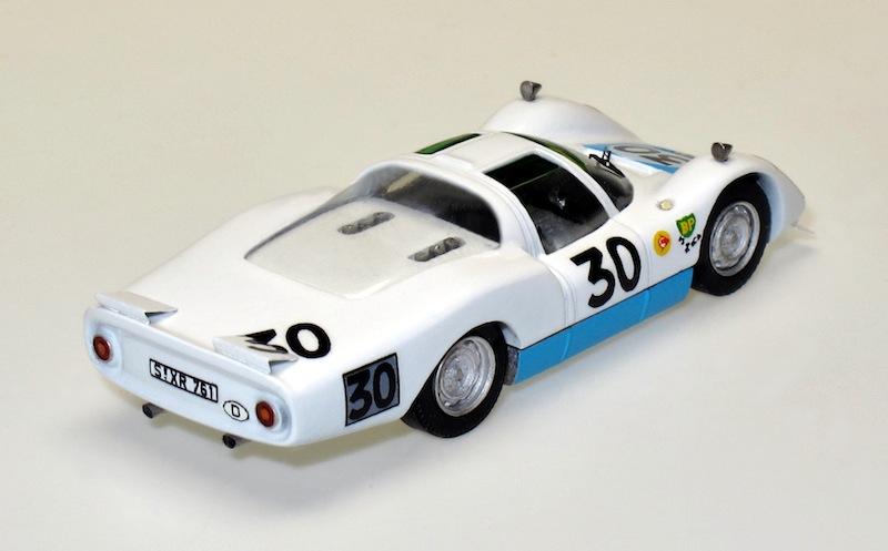 87049 2 Porsche 906 LH Le Mans 66