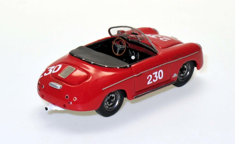 87003 2 Porsche 356A Speedster racing