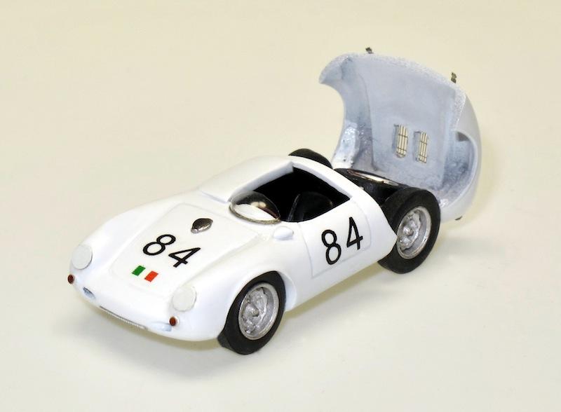 87016 1 Porsche 550 Spyder racing Targa Florio 56