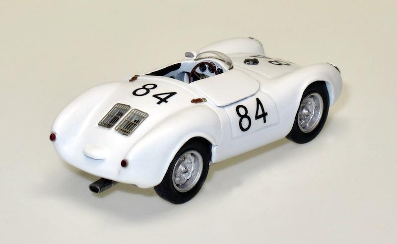87016 2 Porsche 550 Spyder racing Targa Florio 56