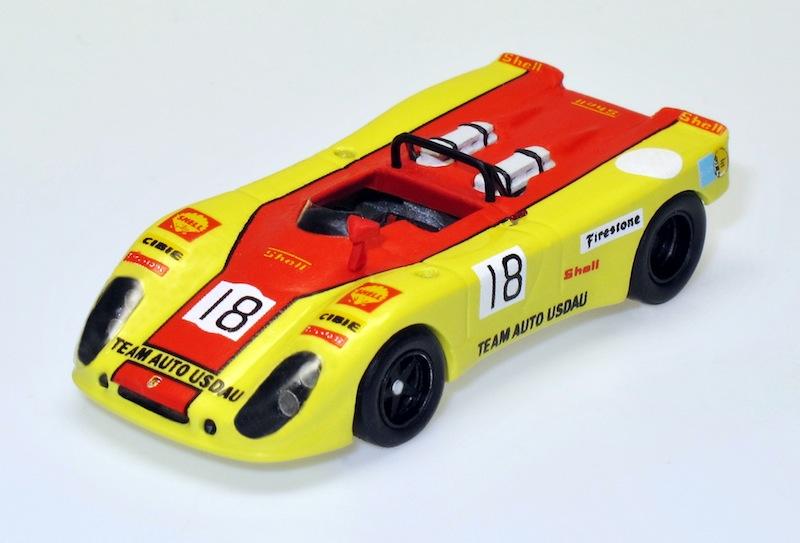 87022 1 Porsche 908 2  Flunder 200 Meilen Nürburgring 71